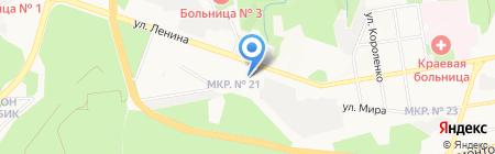 Барристер на карте Ставрополя