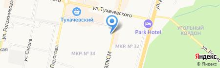 Городской ломбард на карте Ставрополя