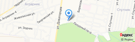 Орфей на карте Ставрополя