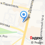 Евросклад на карте Ставрополя
