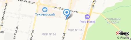 УЮТ на карте Ставрополя
