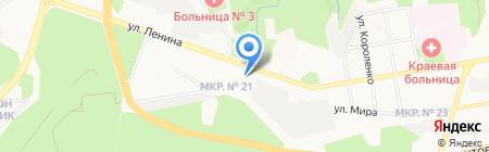 Банк Возрождение на карте Ставрополя