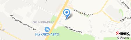 Детская музыкальная школа №5 на карте Ставрополя