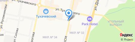 Front-Line на карте Ставрополя