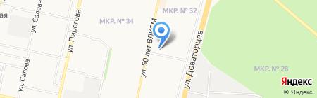Леонидыч на карте Ставрополя