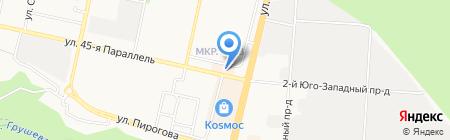 YAMAHA на карте Ставрополя
