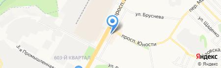 Модница на карте Ставрополя