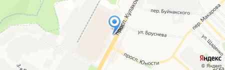 Карбон на карте Ставрополя