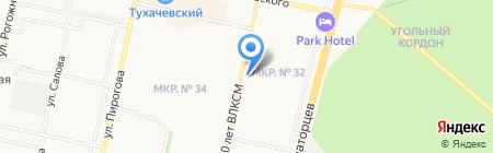 Азбука Цветов на карте Ставрополя