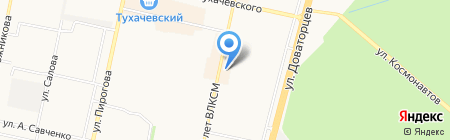 Мамина радость на карте Ставрополя