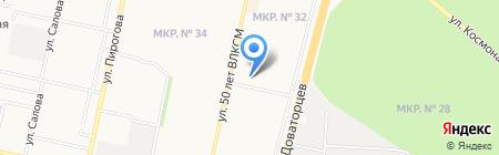 Мега Мастер на карте Ставрополя