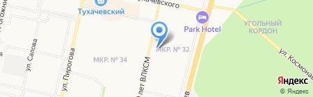 Магазин для любимых на карте Ставрополя