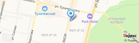 Индейка на карте Ставрополя