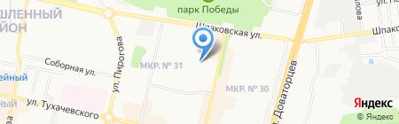 Душа Ставрополья на карте Ставрополя