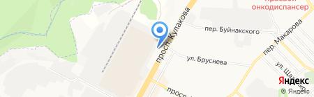 Ассорти на карте Ставрополя
