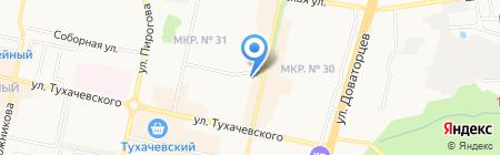 Почтовое отделение №40 на карте Ставрополя