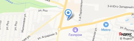 Источник Тока на карте Ставрополя