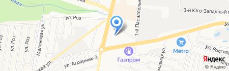 Тепло Темп на карте Ставрополя