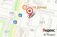 Схема проезда до компании Доломит в Ставрополе
