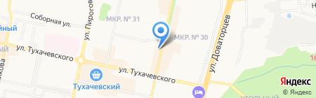Магнит-Косметик на карте Ставрополя