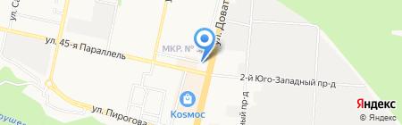 Nano мойка на карте Ставрополя