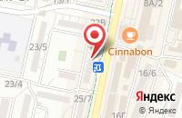 Схема проезда до компании Югстройтепло в Ставрополе