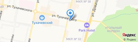 Дома СК на карте Ставрополя