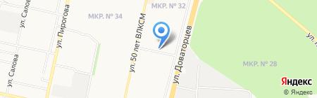 Центр Натальи Болдурчиди на карте Ставрополя