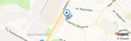 Печать на карте Ставрополя