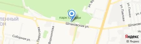 4*4 на карте Ставрополя
