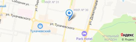 Цветочная феерия на карте Ставрополя