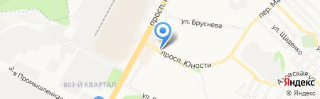 Флокс на карте Ставрополя