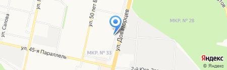Жилищный комплекс на карте Ставрополя