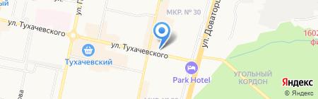 ГЕОС на карте Ставрополя