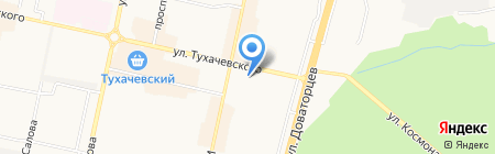 Столовая на карте Ставрополя