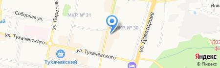 Rieker на карте Ставрополя