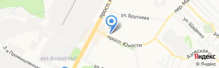 Фотостудия на карте Ставрополя