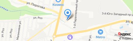 Магазин обуви на карте Ставрополя