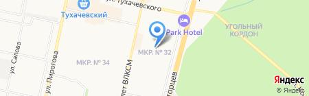 Детский сад №64 на карте Ставрополя
