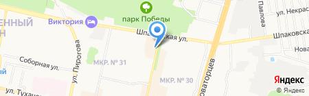 Multipower-Stavropol на карте Ставрополя