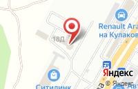 Схема проезда до компании Статус Пресс в Ставрополе