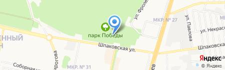 Детский боулинг-клуб на карте Ставрополя