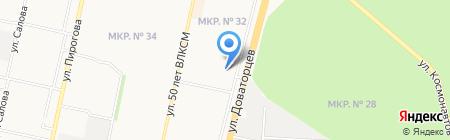 Городская управляющая компания на карте Ставрополя