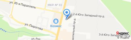 СРКВТиЭ на карте Ставрополя