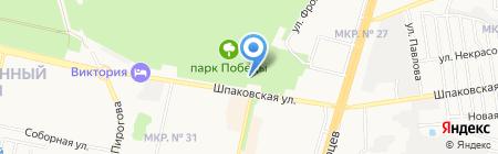 Стереолайф Прайм на карте Ставрополя