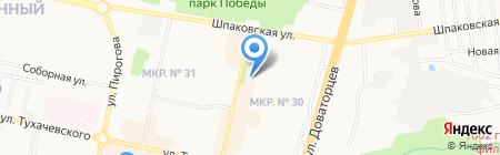 Швеймастер на карте Ставрополя