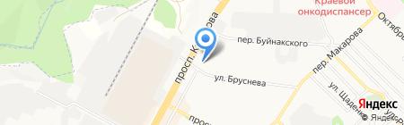 Толстушка на карте Ставрополя