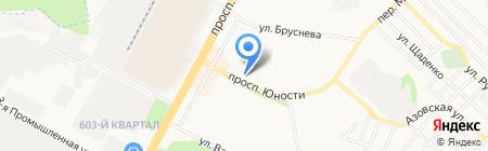 Остров на карте Ставрополя