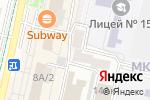 Схема проезда до компании Сфинкс в Ставрополе