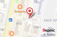 Схема проезда до компании ЮгСтройКомплекс в Ставрополе